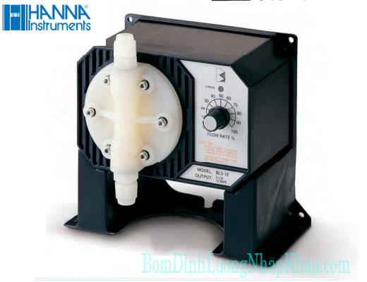 Máy bơm định lượng hóa chất Hanna BL 15