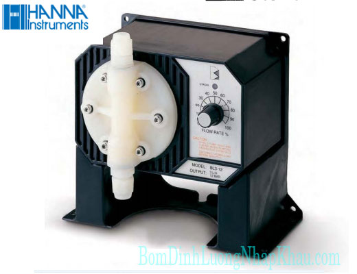 Máy bơm định lượng hóa chất Hanna BL 20
